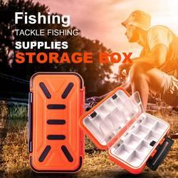 16 wodoodporne pudełko rybackie zestaw akcesoriów haczykowych sprzęt wędkarski akcesoria wędkarskie schowek wielofunkcyjny pojemnik na narzędzia w Skrzynie wędkarskie od Sport i rozrywka na