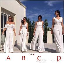Кружевной комбинезон с v образным вырезом длинное платье подружки