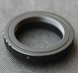 Image 2 - Anel adaptador de lente t2 t para canon, nikon, sony, dslr, nex e mount a6500, a7, a7r, m4/3 câmera gh4 gh5 pentax pk olympus om