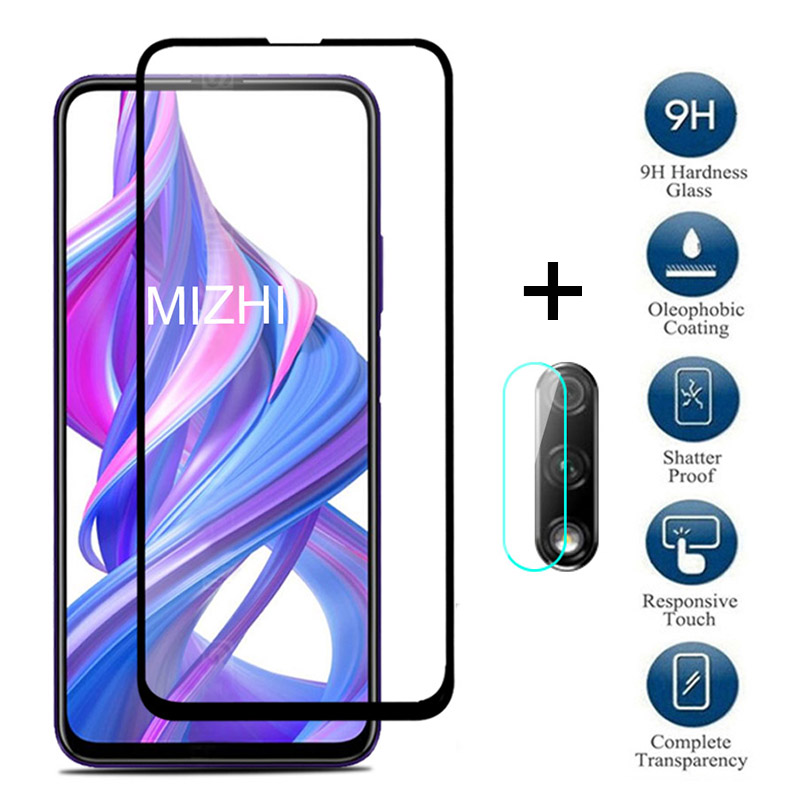 2in1 Protective Glass For Huawei Honor 9x Camera Lens Screen Protector On Huwei Honor 9X Global/Premium 9 X X9 Pro Tempered Glas