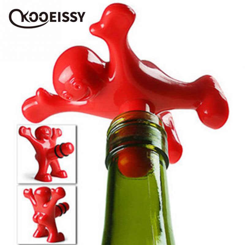 Wine Stopper Bottle Protect Kitchen Bar Creative Evil Banana Eco Friendly Cork