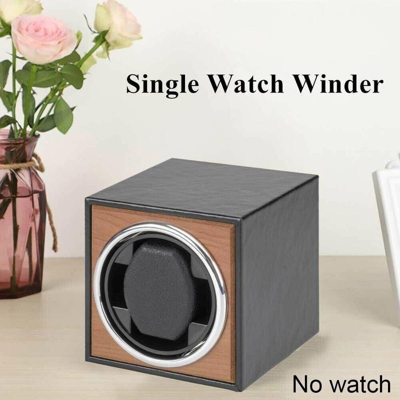 Watch Winder Wooden Watch Accessories Watches Storage Collector Vertical Shaker