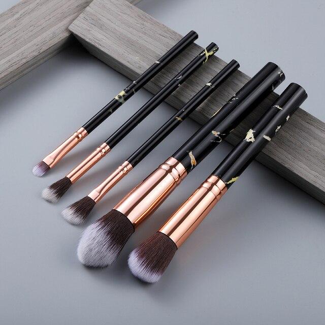 5/10/15pcs Makeup Brushes Sets Highlighter Eye Cosmetic Powder  5