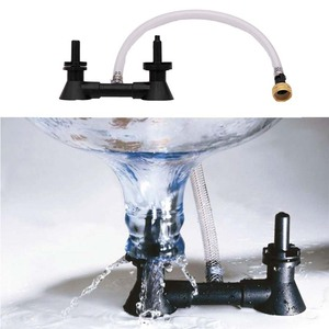 Image 5 - Double Blast Bottle Carboy Washer Homebrew Beer & Wine Cleaning Equipment Rinser With Kitchen Faucet Adapte