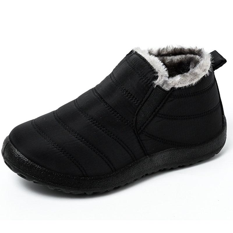 Men Shoes Waterproof Winter Boots Men Outdoor Shoes Man High Top Winter Boots For Men Mans Footwear Plus Size Winter Shoes