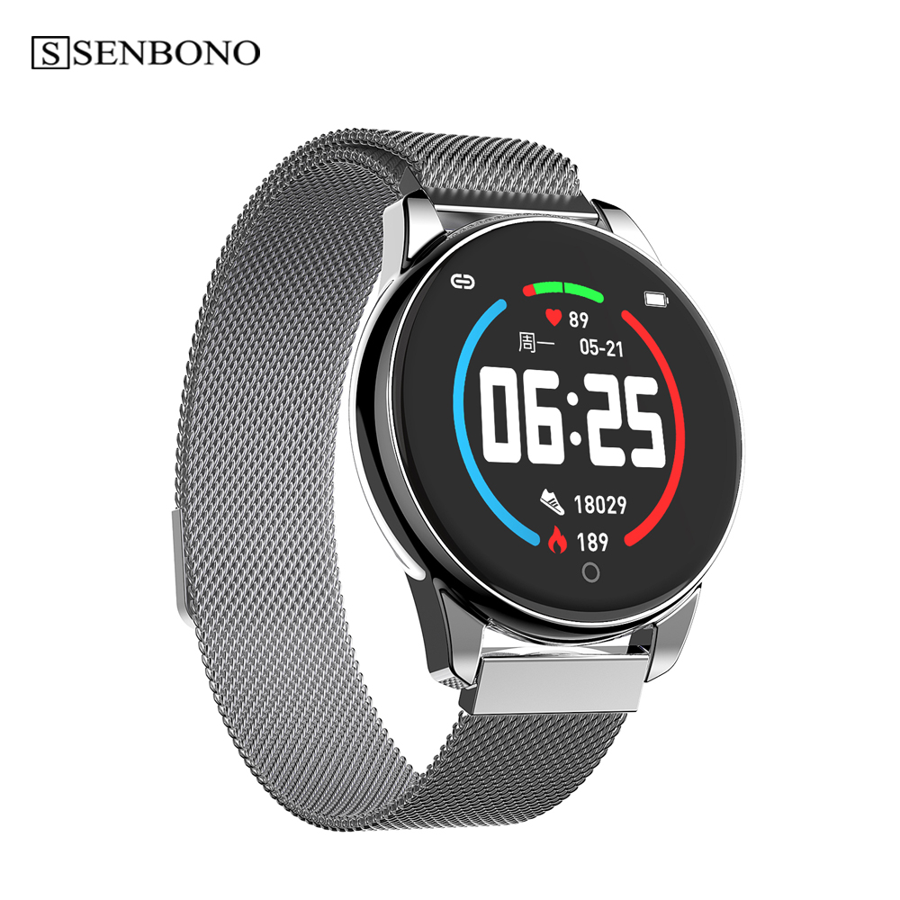 2019 new smart watch Sport Pedometer Smart Watch Fitness Tracker Heart Rate Monitor  men Women Clock Smartwatch for Android IOS