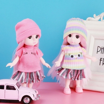Костюм для куклы 16 см. 4