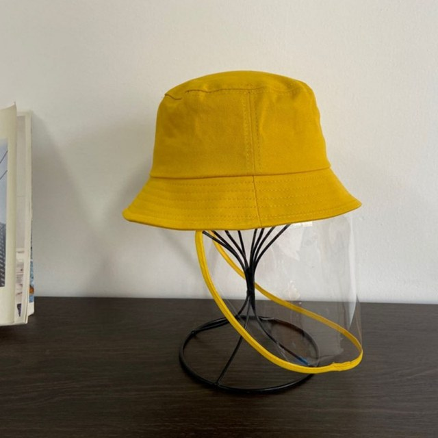 Kids Dustproof Anti Spitting Protective Mask Visor Hat Face Shield Fisherman Outdoor windproof dustproof insectproof sun Cap 5