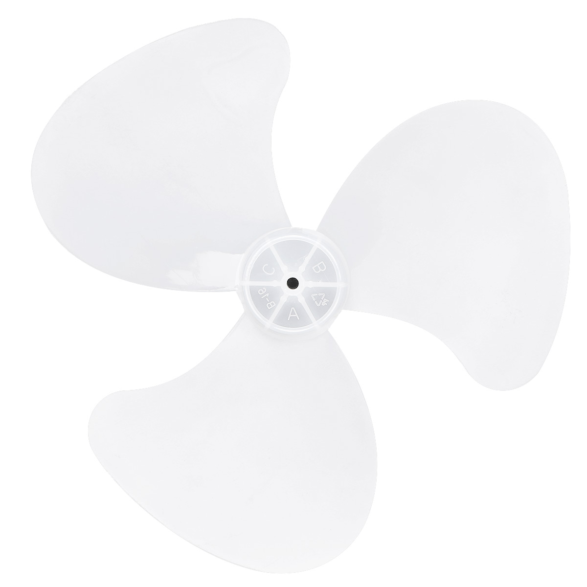 18 Inch Aluminum Fan Blade 4 Leaves+Nut Cover for Stand Pedestal Table Fanner