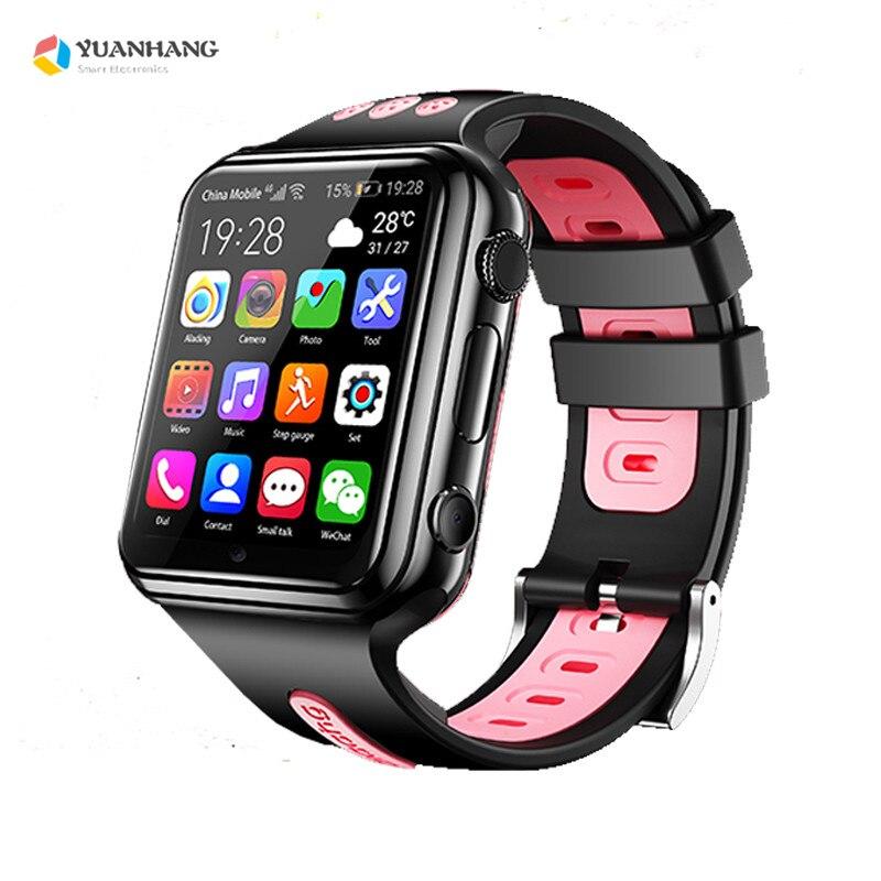 Смарт 4G Удаленная камера gps Wi Fi ребенок студент Whatsapp Google Play Smartwatch видео вызов монитор трекер местоположение телефон часы - 4