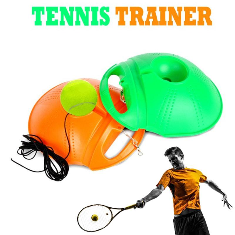 Tennis Practice Trainer Durable Practical 2 Color PE Sports Sparring Device Movement Tennis Singles Linker Portable Home