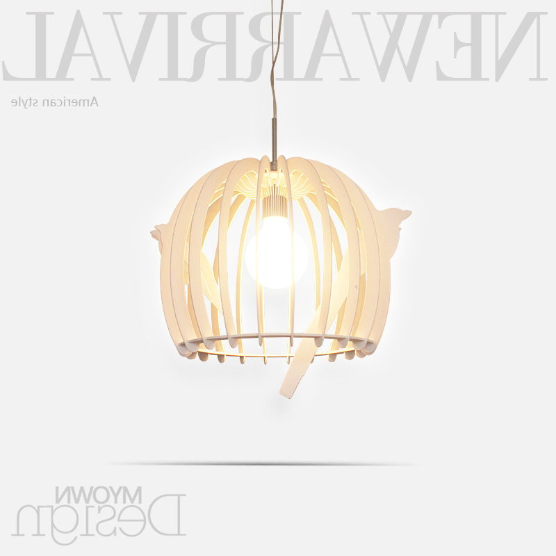 Modern Minimalist Cage Restaurant Chandelier Living Room Lights Bedroom Lamp Chandelier Lighting Bed Lampen Industrieel