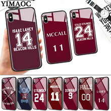 Stilinski 24 MCCALL 11 LAHEY 14 Glass Phone Case for Apple iPhone Pro XR X XS Max 6 6S 7 8 Plus 5 5S SE