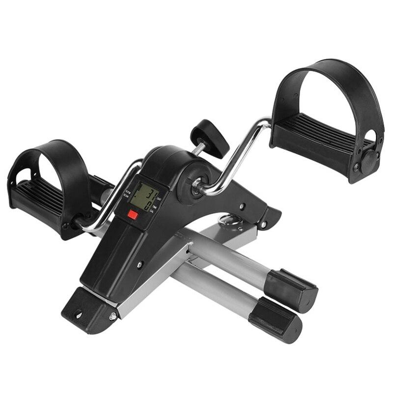 Exercice portatif de pédale de bras et de jambe de pliage avec l'affichage numérique d'affichage à cristaux liquides - 4