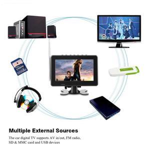 Image 4 - LEADSTAR Màn Hình LCD 7Inch ATSC Xe Truyền Hình Kỹ Thuật Số Đài FM 1080P Stereo Độ Nhạy Cao Truyền Hình Kỹ Thuật Số Cho Phích Cắm US