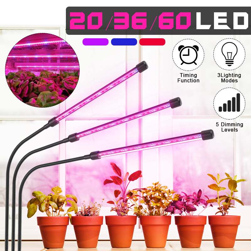 LED Grow Light 5V USB Fitolampy LED Full Spectrum Phyto Lamp Phyto-Lamp For Indoor Vegetable Flower Plant Tent Box Fitolamp image