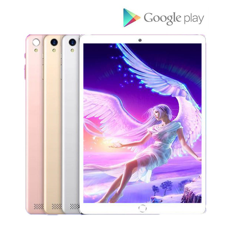 YAHU Google Play 10 Inch Tablet 6GB RAM 128GB ROM 4G LTE Android 8.0 Tablets Wifi 1280*800 Dual SIM IPS GPS Phone 10.1 Pad