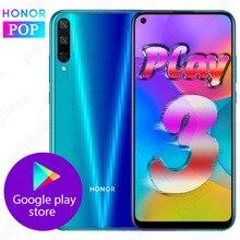HONOR Play 3 мобильный телефон HONOR play 3 6,39 дюймов Kirin710F Восьмиядерный Android 9,0 разблокировка лица GPU Turbo 3,0 Поддержка Google play