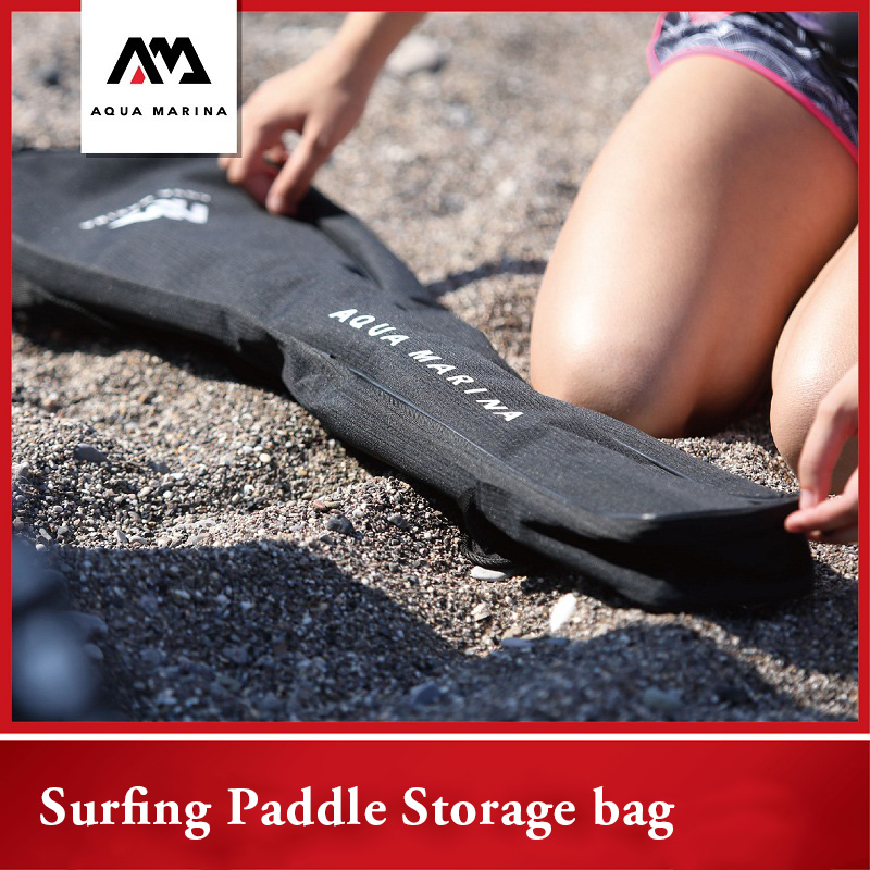 AQUA MARINA Paddle Carry Bag Surfing Oxford Fabric Shoulder Bag  Sup Board Surf Stand Up Paddles Storage Pocket Accessories