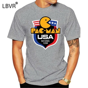 PAC-MAN, Retro, 1980's, American, Funny, Video Game, Arcade, T-shirt