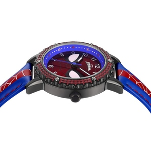 Image 4 - Spidermen Child Super Hero Cool Quartz Watch Marvel Student Clock Time Boys Birthday Gift Kids Relogio Infantil Zegarek Relojes
