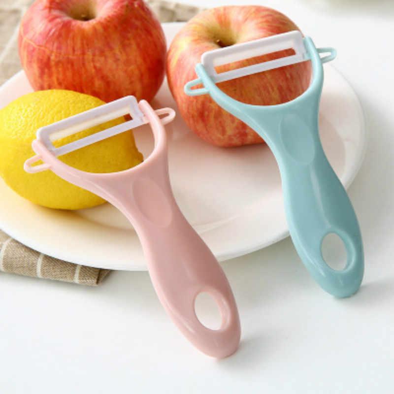 SUEF 1PC Ceramic Peeler Ceramic Fruit Paring Knife Kitchen Multi-function Planer Household Apple Scraping Knife Potato Peele@1