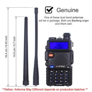 Image 5 - 2PCS BaoFeng UV 5R Walkie Talkie 5W Dual Band 136 174MHz  / 400 520MHz UV5R 128CH VOX Flashlight FM Transceiver for Ham Radio