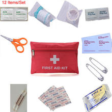 Portátil ao ar livre à prova dportable água pessoa ou família kit de primeiros socorros para a sobrevivência de emergência tratamento médico no curso de acampamento ou caminhadas
