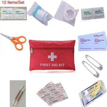 Портативный наружный водонепроницаемый комплект первой помощи для человека или семьи для экстренной медицинской помощи для выживания в пу...