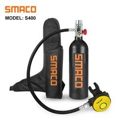 SMACO 1L оборудование для дайвинга мини-цилиндр для подводного плавания S400 buceo кислородный воздушный резервуар для подводного дыхания 15 минут