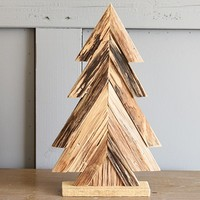 Christmas Wooden Tree DIY Small Desktop Ornaments for Kid Gift Xmas Tree Ornaments Christmas Party Home Supplies