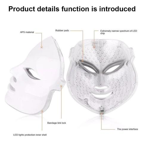photon terapia mascara facial maquina de terapia