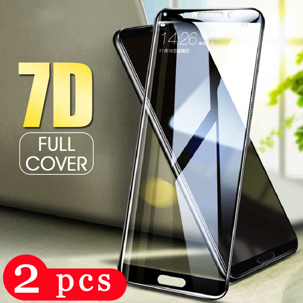 2Pcs full cover tempered glass for <font><b>huawei</b></font> <font><b>P30</b></font> P20 pro P10 P9 <font><b>lite</b></font> phone screen protector P9 protective film on glass <font><b>smartphone</b></font> image