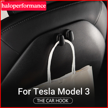 haloperformance Model3 Seat Headrest Hook Fit for Tesla Model 3 Hanger Car