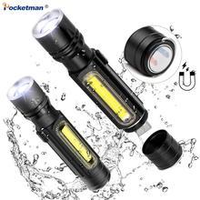 5000LM Multifunctional LED Flashlight…