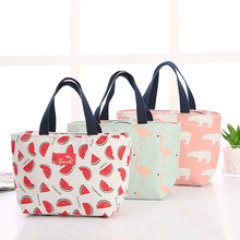 2019 new Lunch Women Bag Keep Fresh Handbag Waterproof Portable Picnic Insulated Food Storage Box Tote Lunch Bag Large Capacity portable rattan print handbag lunch bag office lunch fruit pouch bag lunch handbag picnic insulated food