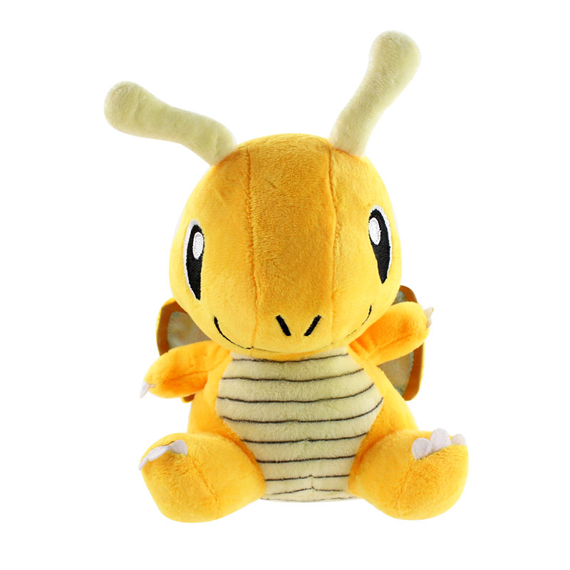 Anime Toys Hobbies Dragonite Cartoon Character Stuffed Animals Plush Kids Toys Great Gift