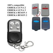 Erreka luna porta da garagem/porta de controle remoto duplicador 433mhz erreka reson garagem comando 433.92 transmissor portátil