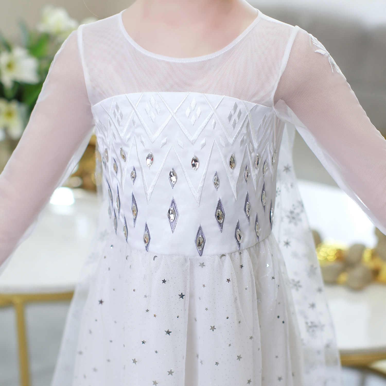 Kar kraliçesi Elsa ve anna elbise yaz Aisha kraliçe prenses elbise cadılar bayramı doğum günü prenses kostüm