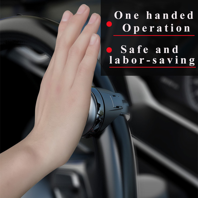 Universal Car Steering Wheel Booster ABS In Rolling Handle Control Spinner Steering Wheel Knob Strengthener Spinner Knob Ball 1