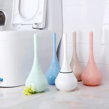1pcs Bathroom Toilet Scrub Cleaning Brush Holder Set Home Standing Plastic Toilet Brush Bathroom Washroom Cleaning Brush Tool недорого