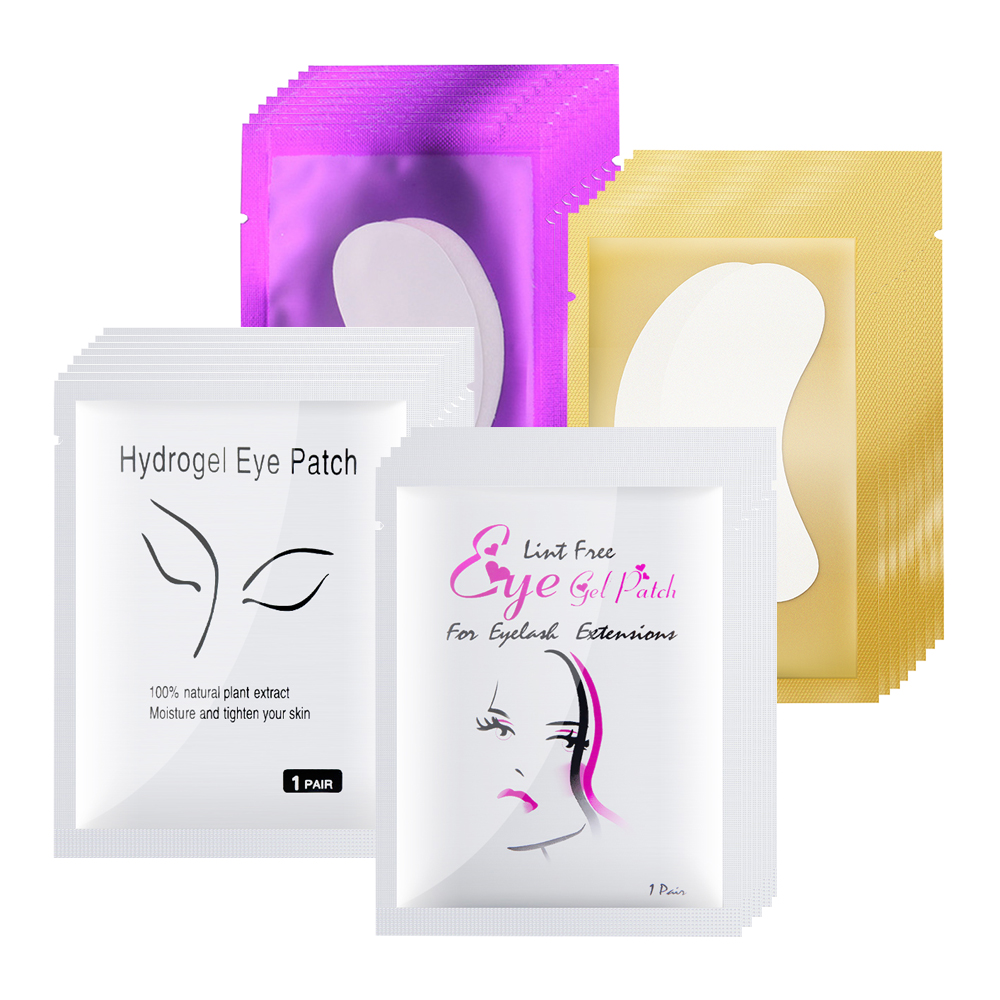 200/400Pairs Eyelash Extensions Paper Patches Eyelashes Under Eye Pads Supplies Patches For Lash Extension Makeup Tools Sticker
