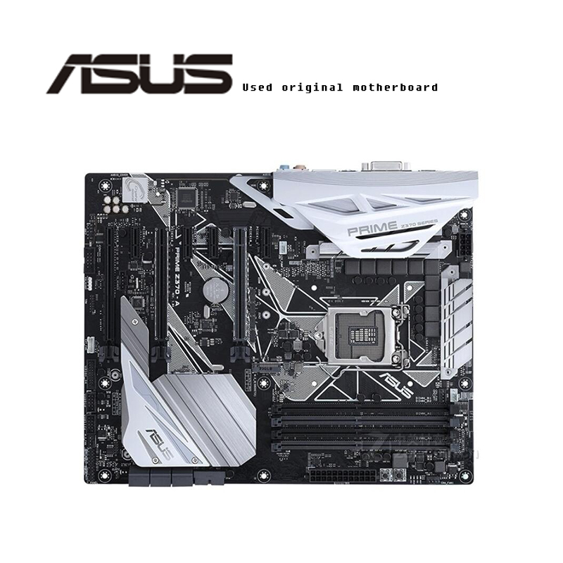 For ASUS  PRIME Z370-A Original Motherboard Socket LGA1151  DDR4 Z370 Desktop Motherboard