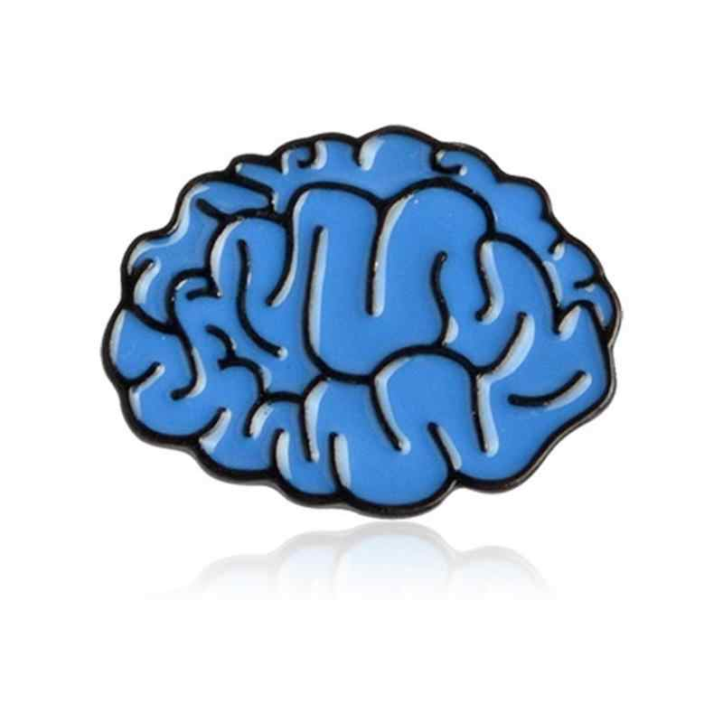 แฟชั่นกายวิภาคหัวใจเข็มกลัดร้อนขายบุคลิกภาพสัตว์พืช PIN สมองฟัน Lapel Badge แจ็คเก็ตกระเป๋าเป้สะพายหลังอุปกรณ์เสริม