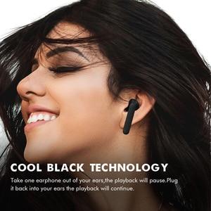 Image 5 - Draadloze Hoofdtelefoon Oortelefoon Bluetooth 5.0 Tws Hifi Headset Kleine Bass Oordopjes Met Power Display Touch Control Oor Detectie