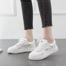 Hot Sale New Spring And Summer With White Shoes Woman Flat Female Board Women Casual D0068