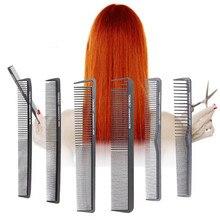 Peigne de Cricket professionnel en Fiber de carbone, peigne de coupe antistatique, outil de coiffeur antistatique, brosse de coupe de cheveux, 1 pièce