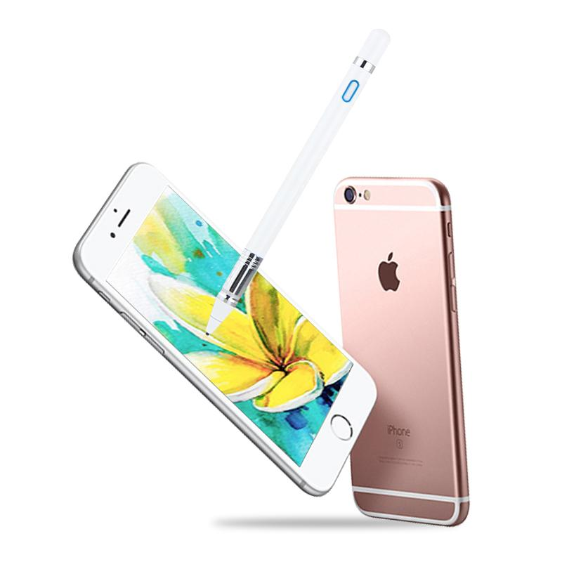 Active Pen Capacitive Touch Screen For iPhone X S Max XR 8 7 9 6 s Plus X 11 Pro Max 2019 SE Mobile phone Stylus Pen NIB 1.35mm