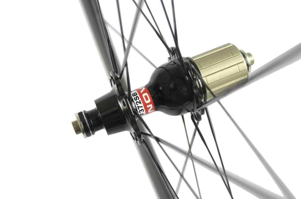 Roues de vélo de route en carbone 700C 38/50/60/88mm roues de vélo 3k Matte