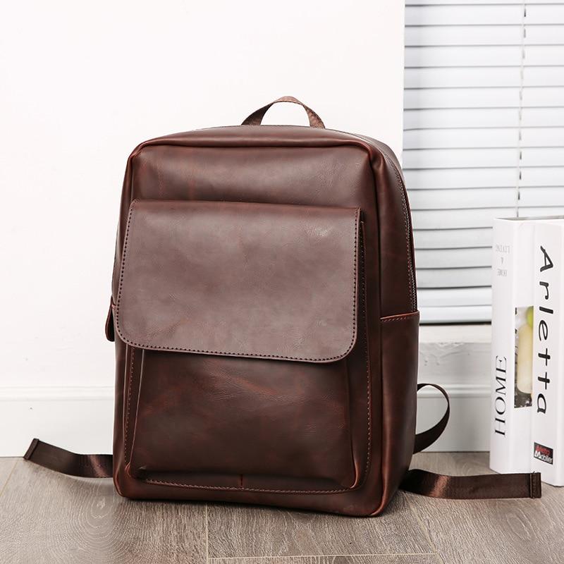 JIULIN черные рюкзаки рюкзак на молнии маленькие мужские модные однотонные ПУ мужские сумки для Mara's Dream